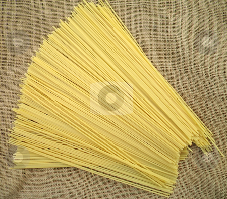 Spaghetti stock photo, Spaghetti pasta ready to be cooked by Roberto Marinello