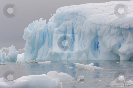 Iceberg in Antarctica stock photo,  by Chris Budd