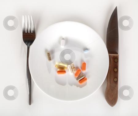 Vitamins stock photo, Conceptual vitamin diet by R Deron