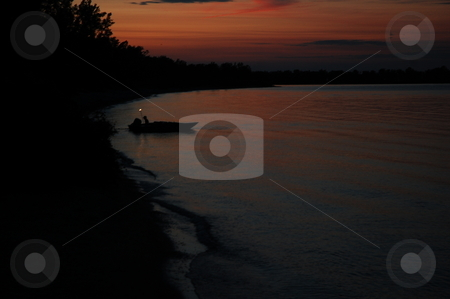 Out fishing stock photo,  by Andrew Kauffman
