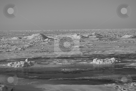 Ice dunes stock photo,  by Andrew Kauffman