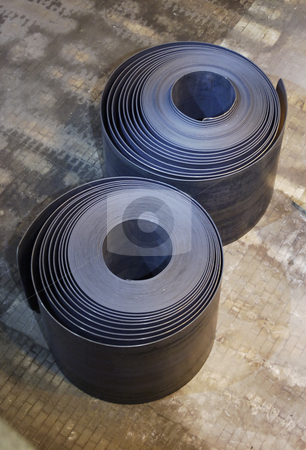 Two Steel coils stock photo, Two steel coils by Corepics VOF