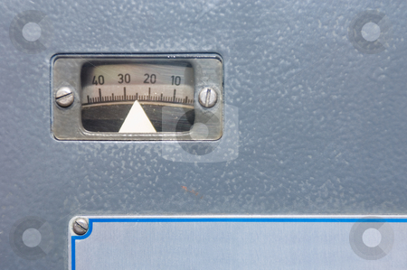 Offset calibration stock photo, The calibration gauge of an offset printing press by Corepics VOF