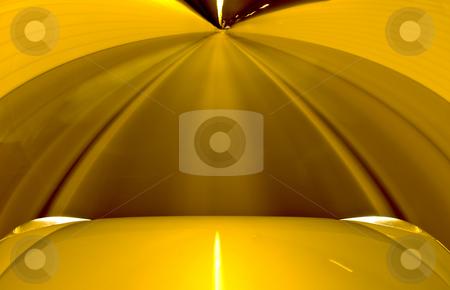 A car driving through a tunnel stock photo, A car driving through a single lane tunnel by Corepics VOF
