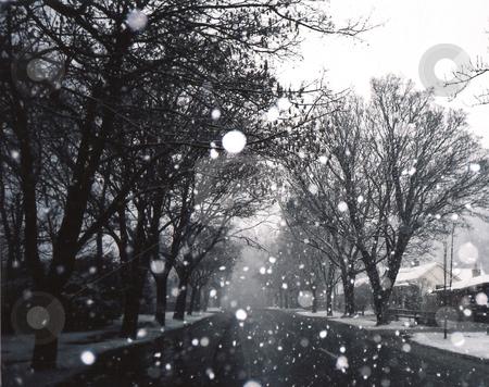 Snowglobe Village stock photo,  by Stephen Kerin