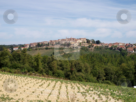 Tuscan vista stock photo, View of Tuscan vista by Jaime Pharr