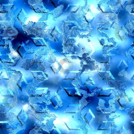 Ice abstract seamless background stock photo, Ice abstract seamless background by Andrey Butenko