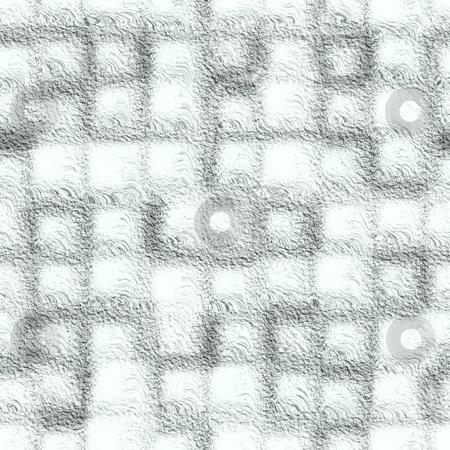 Frozen grid seamless texture stock photo, Frozen grid seamless texture by Andrey Butenko