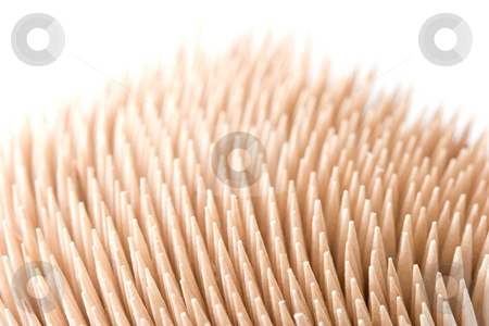 Toothpicks stock photo, Toothpicks by Andrey Butenko