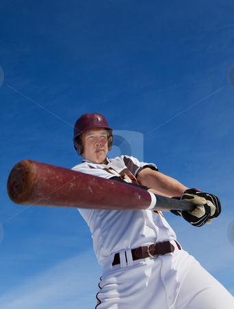 Spring training stock photo, A baseball player taking a swing during spring training by Steve Mcsweeny