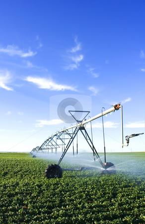 Pivot spray stock photo, Modern farming tool by Steve Mcsweeny