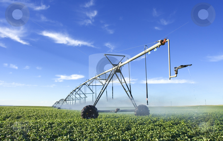 Pivot stock photo, Modern irrigation tool by Steve Mcsweeny