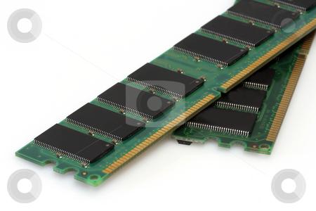 RAM modules stock photo, RAM modules on bright background by Birgit Reitz-Hofmann