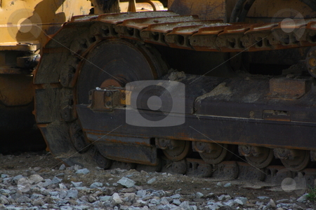 Construction site stock photo, Construction equipment and scenery by Chris Torres