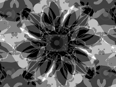 Spinning Flora Background Pattern stock photo, Spinning Flora Background Pattern by Dazz Lee Photography