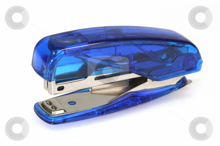 Office stapler stock photo, Office stapler on bright background by Birgit Reitz-Hofmann