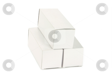 White Box stock photo, Box isolated on white background by Birgit Reitz-Hofmann