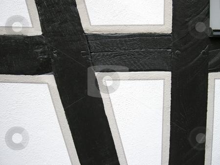 Carcass stock photo, Old framework construction in detail by Birgit Reitz-Hofmann