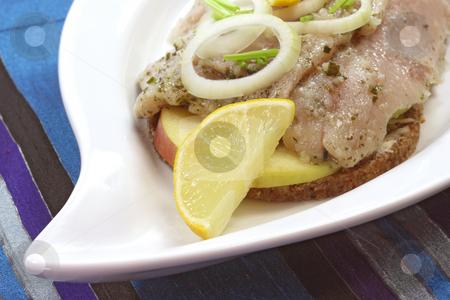 Fresh herring stock photo, Gourmet young herring fillets. Studio Shot by Birgit Reitz-Hofmann