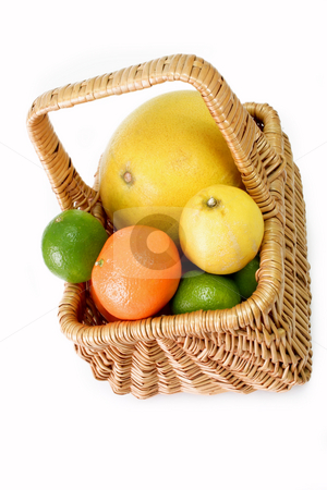 Juicy fruits stock photo, Colorful fresh and  healthy fruits on bright background by Birgit Reitz-Hofmann