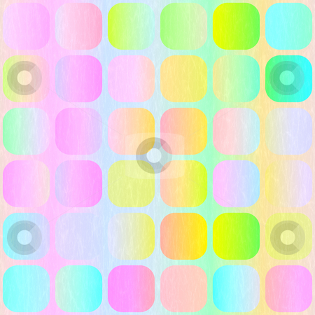 Pastel blocks pattern stock photo, Vibrant pastel colored blocks with light woven imprint by Wino Evertz