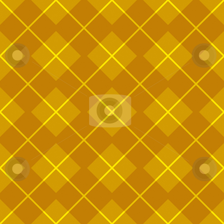 Golden gingham pattern stock photo, Seamless texture of gold to yellow bright checks by Wino Evertz
