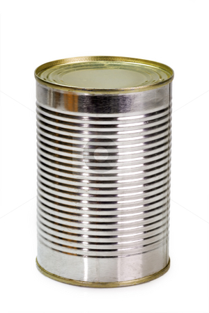 Canned food  stock photo, Canned food over white background by Birgit Reitz-Hofmann