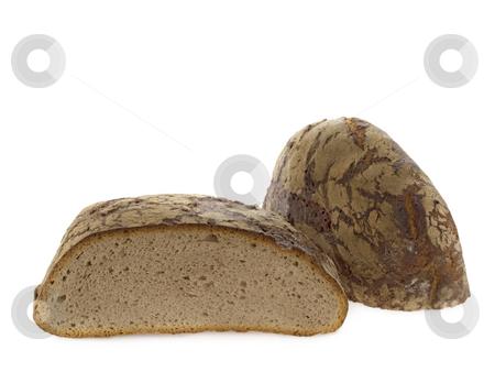 Tasty bread stock photo, Loaf of bread isolated on white background by Birgit Reitz-Hofmann
