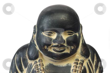 Buddha stock photo, Buddha on a white isolated background by Birgit Reitz-Hofmann