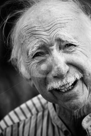 Handsome Senior Man Outdoors stock photo, Portrait of a Handsome Senior Man Outdoors by Scott Griessel