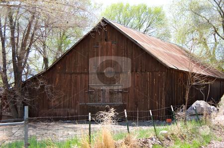 Old Barn stock photo,  by John Dickinson