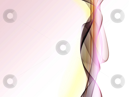 Abstract Background stock photo, An abstract shape on a gradient light purple background by Alexander Zschach