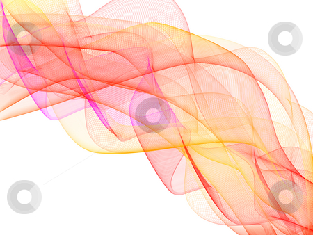 Abstract Waves stock photo, Colorful abstract background by Alexander Zschach