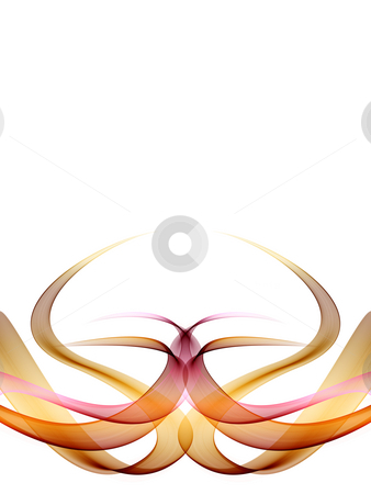Abstract Background stock photo, An abstract illustration of symmetric shapes on gradient light purple background by Alexander Zschach