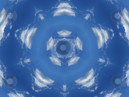 Blue and White Background Pattern stock photo, Blue and White Background Pattern by Dazz Lee Photography