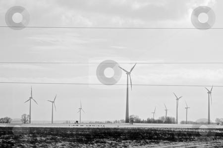 Wind power stock photo, Wind power by Creative Shield