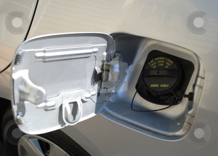 Gas cap stock photo, Stock pictures of the gas cap in a truck or a car by Albert Lozano