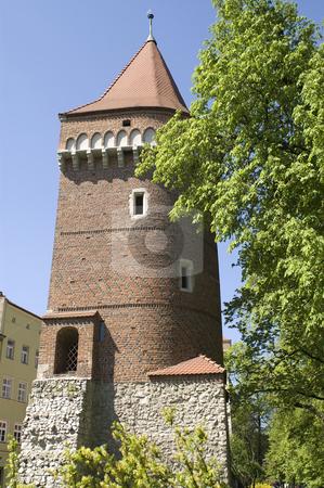 Krakow tower stock photo, Tower in Krakow by Stephen Sienczyk