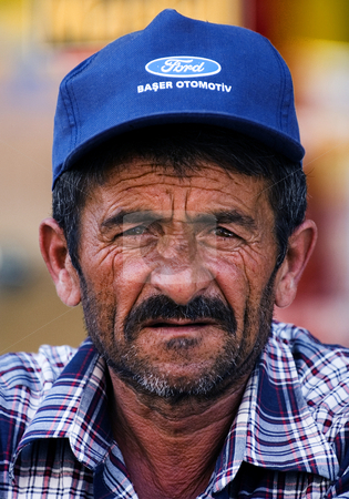 Turkish man stock photo, Portrait of turkish man by Kobby Dagan