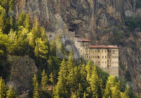 Sumela Monastery stock photo, The Sumela manastery in north east Turkey by Kobby Dagan