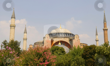 Aya Sophia stock photo, The Aya Sophia mosque in Istanbul Turkey by Kobby Dagan