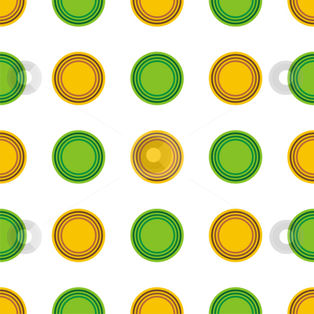 Seamless texture stock photo, Seamless texture - a pattern of yellow and green circles repeating seamlessly by Mihai Zaharia