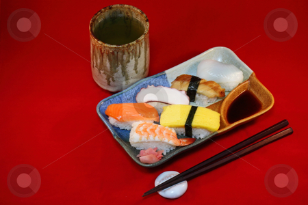 Japanese Sushi stock photo,  by Tomo Photography