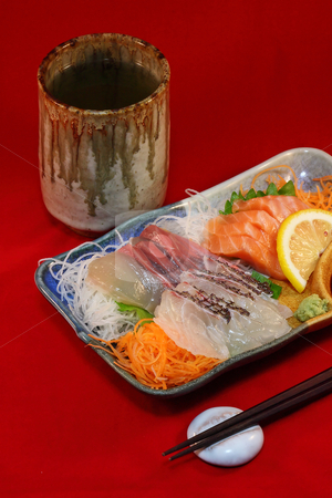 Japanese Sashimi stock photo,  by Tomo Photography