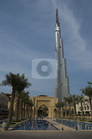 Burj Dubai stock photo,  by Didier Tais