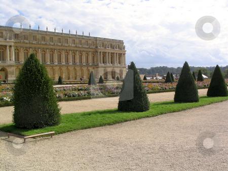 Versailles palace and garden stock photo, Versailles palace and garden by Jaime Pharr