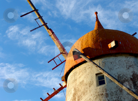 Windmill stock photo, Windmill detail by Rui Vale de Sousa
