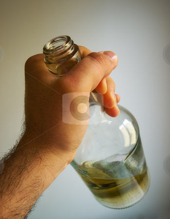 Romance in the bottle stock photo, Metaphor which can suggest problem like alcoholism... by Sinisa Botas