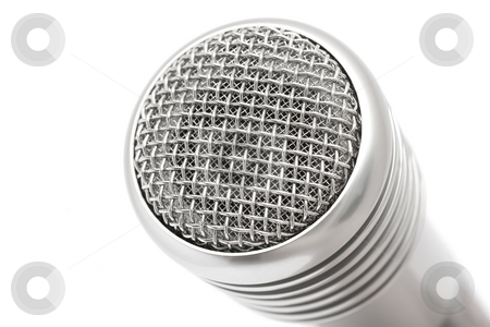 Microphone stock photo, Microphone by Andrey Butenko