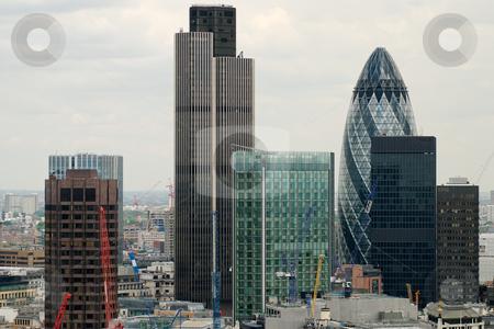 London city stock photo, CITY in clouds by Juraj Kovacik